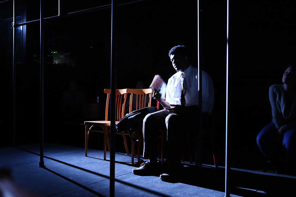 Dutchman By Amiri Baraka |  Set Design- Adrian Martinez Frausto
